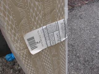 mattress tag