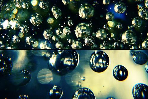 Silver Blue Drops