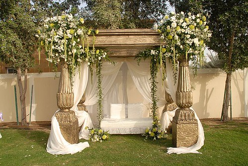 Home Wedding Design Ideas: Wedding Decorating Backyard Ideas
