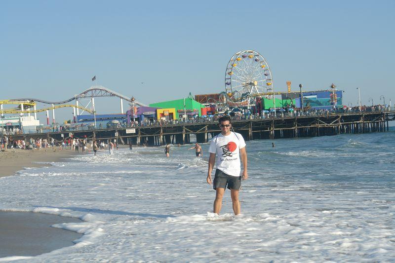 Santa Mónica Pier recorriendo la costa de california por el big sur - 2528664938 08db9d3a84 o - Recorriendo la costa de California por el Big Sur