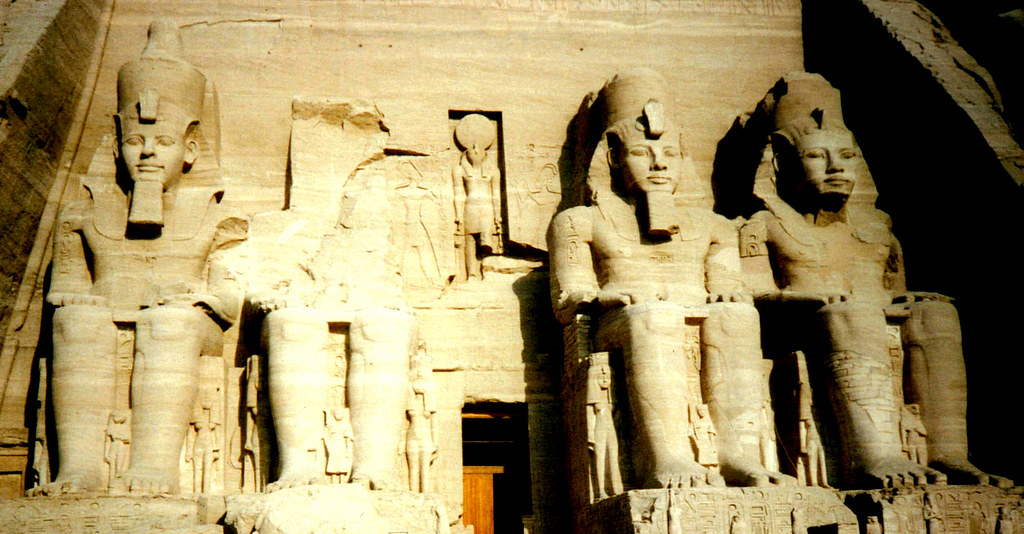 Aug 88 - Temple of Ramesses II, Abu Simbel