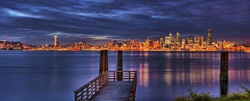 Seattle Pan HDR--Over 20k Views
