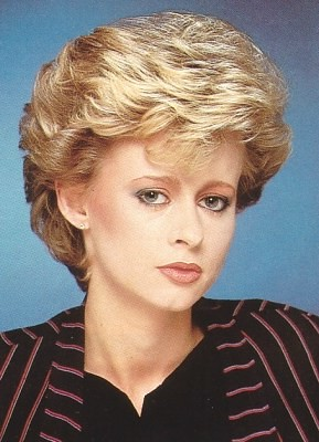 80s Power Dressing Hair Style