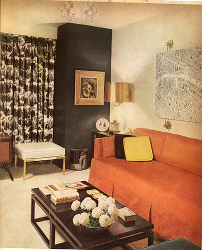 from Better Homes and Gardens Decorating Ideas, 1960