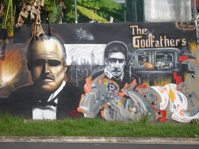 godfather mural
