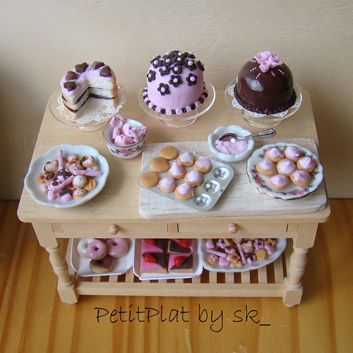 Miniature Food Pink Tea Party!