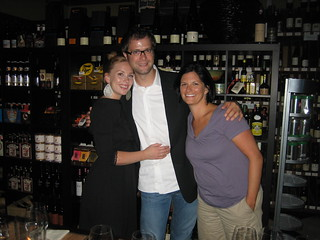Winemaker Martin and friends