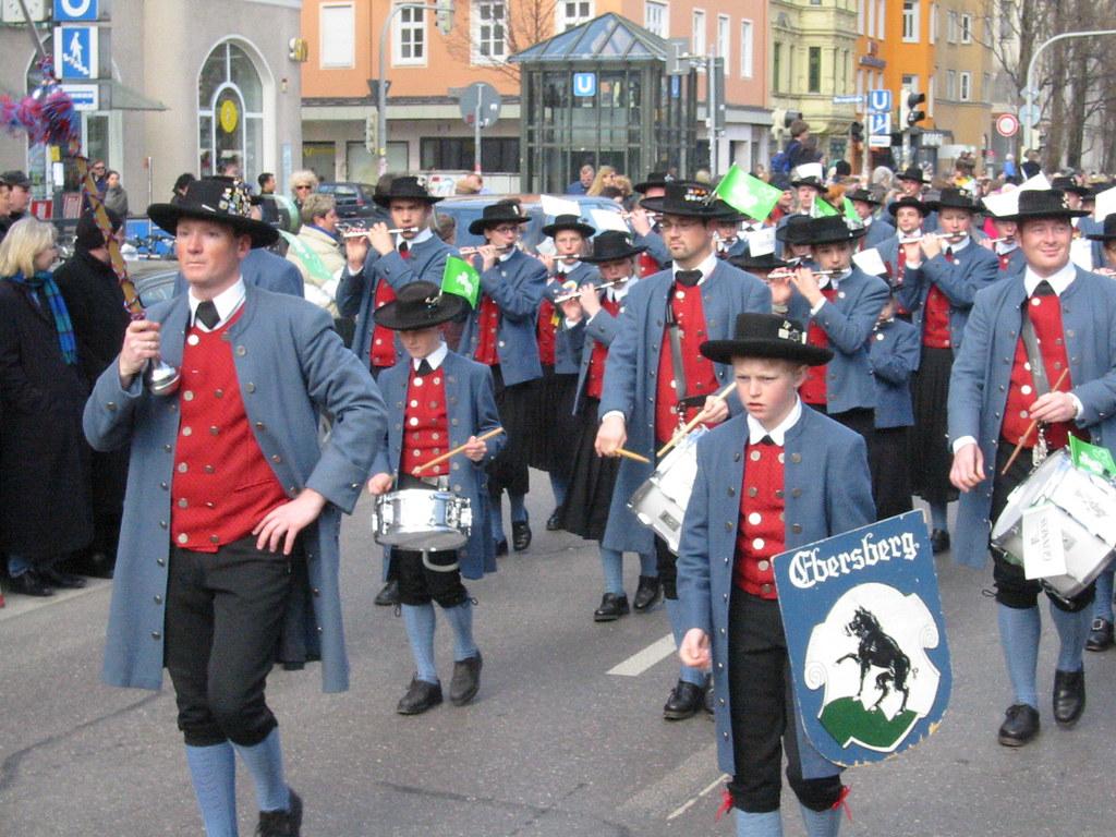 Irish Parade in Germany