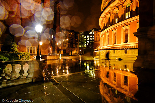 Royal Albert Hall in the Rain
