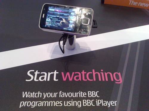Mobile iPlayer in Nokia Store