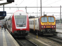 CFL EMU 2020 with driving trailer 014, Luxembourg