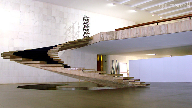 Niemeyer Stairs - Palácio do Itamaraty