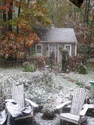 Snow on October 28th!!!!