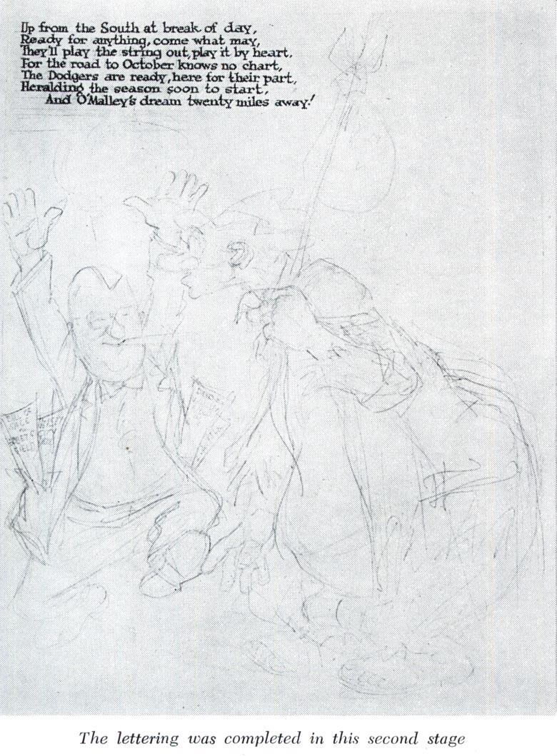 today u0026 39 s inspiration  willard mullin draws  u0026quot the brooklyn bum u0026quot