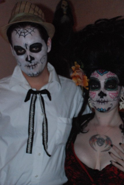 day of the dead couple - photo #33