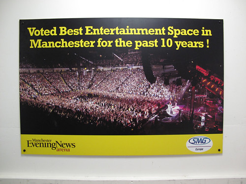 Manchester Evening News Arena MEN - Manchester, UK