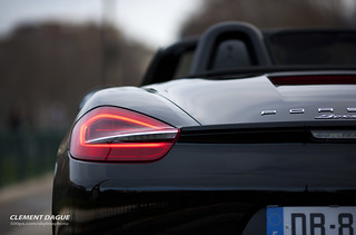 Porsche Boxster S rear light