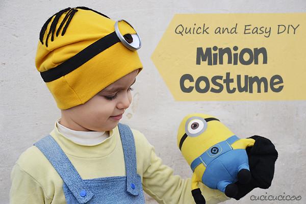 Despicable Me costumes: make a DIY Stuart Minion costume