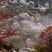 Yoshino misty temple
