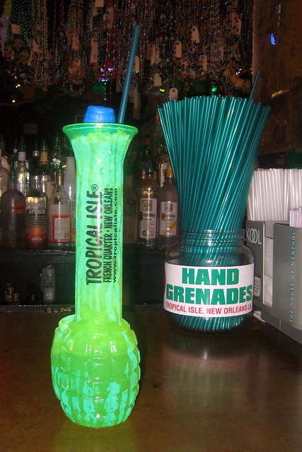 New Orleans - French Quarter: Tropical Isle - Hand Grenade | Flickr ...