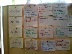 Barcamp Bodensee - Session Board