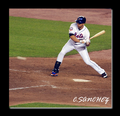 Carlos Beltran Batting I Was Able To Include The Ball Comi