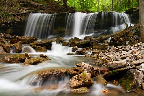ontario water river rocks stream falls waterfalls 2008 milky websters tews