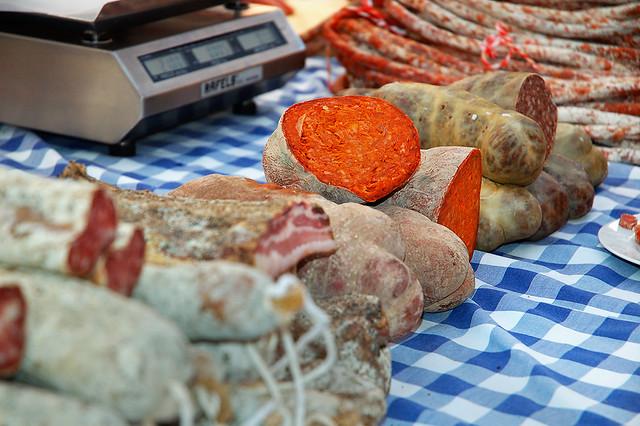 Блюдо на Майорке: колбаса Собрасада