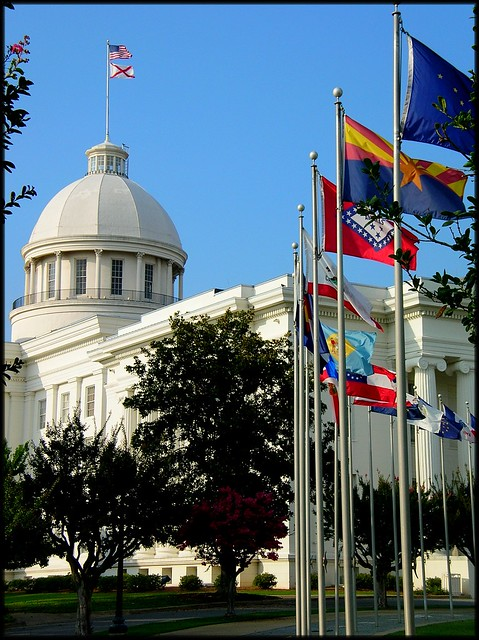 Alabama state capitol flickr photo sharing Southern homes and gardens montgomery al