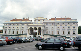 Image of Palais Schwarzenberg. vienna wien austria österreich 2000 palace palais schloss schwarzenberg