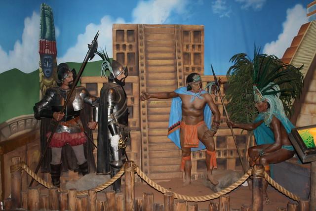 Hernan Cortez & Emperor Montezuma