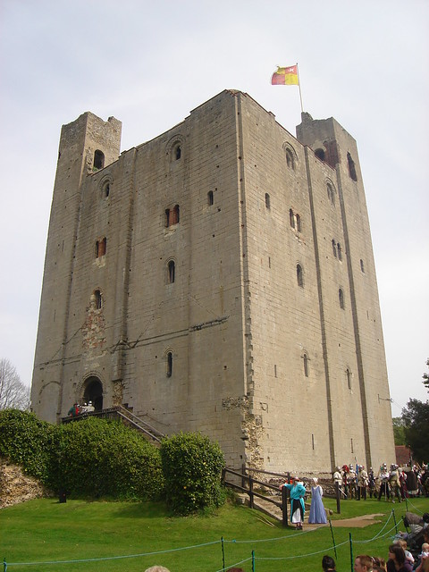 The Norman Keep - Hedingham Castle