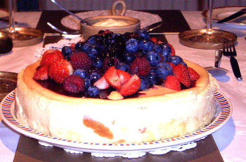 Cheesecake: home cooking