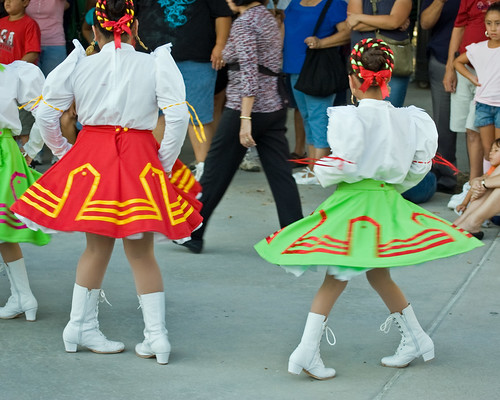 Baile Folklorico at the Baseball Park