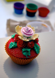 Cupcake for the Shoot