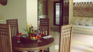 Openair Living Room - Bora Bora Villa Bali
