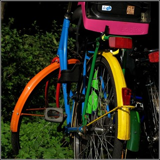 - colourful bicycle -