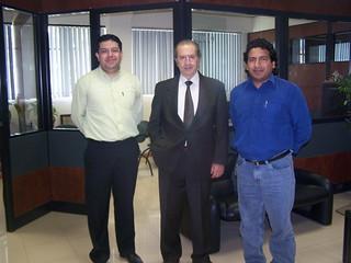 con Rodrigo Borja
