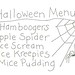 free halloween embroidery