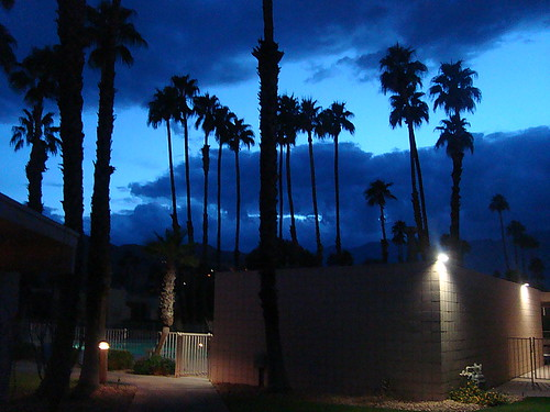 The Palm Springs Blue Hour at Seven Lakes Country Club