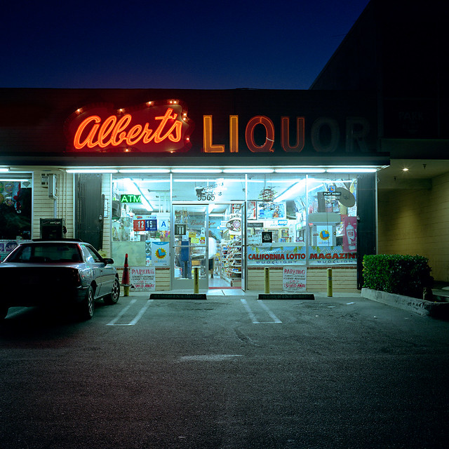 albert's liquor. culver city, ca. 2008.