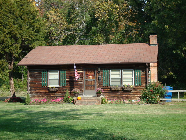 Log Cabin Style Flickr Photo Sharing