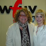 Duffy with Rita Houston at WFUV