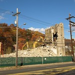 Demolition of Octagon Process Chemical Deicing Plant, Edgewater New Jersey
