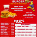 Petey's Burger Menu by ranimal