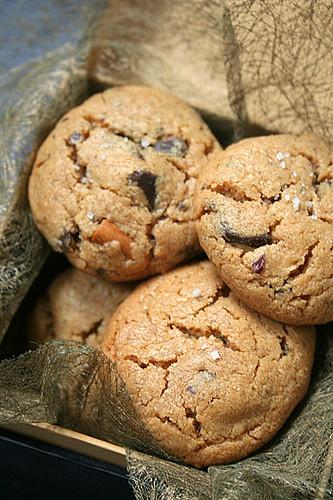 Le p trin cookies pur beurre de cacahu tes et eclats de - Cookies beurre de cacahuete ...