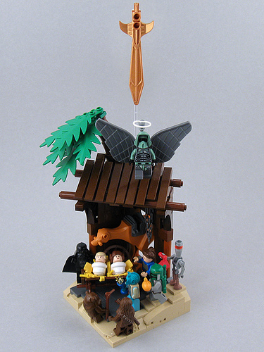 LEGO Star Wars Nativity   Flickr - Photo Sharing!