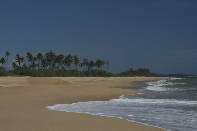 beach, tangalle by CC user clurr on Flickr