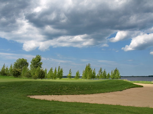trees sky green nature grass sport golf landscape outdoors olympus baltic latvia course golfcourse fairway lettland latvija e510 ozogolf