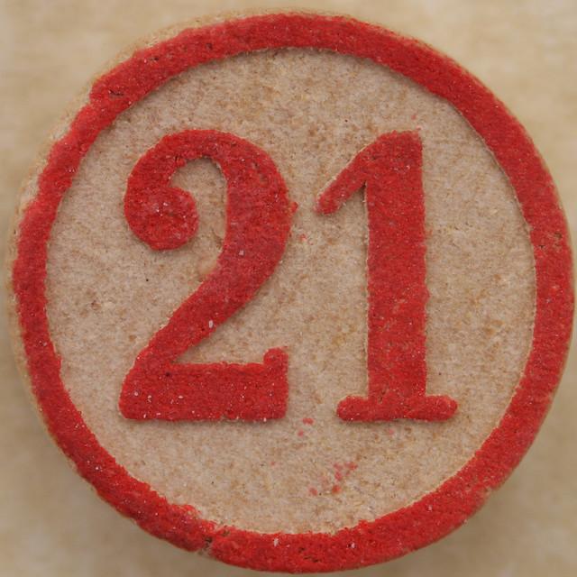 Bingo Number 21   Expl...